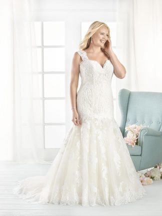 Plus Size Wedding Dress - HBB1807 Front