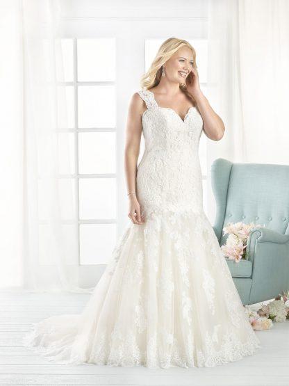 Plus Size Wedding Dress - HBB1807 Front