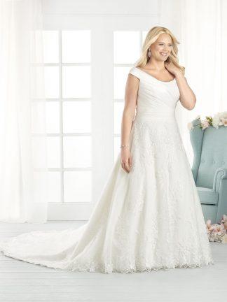 Plus Size Wedding Dress - HBB1811 Front