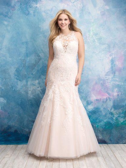 Plus Size Wedding Dress - HBW536 Front