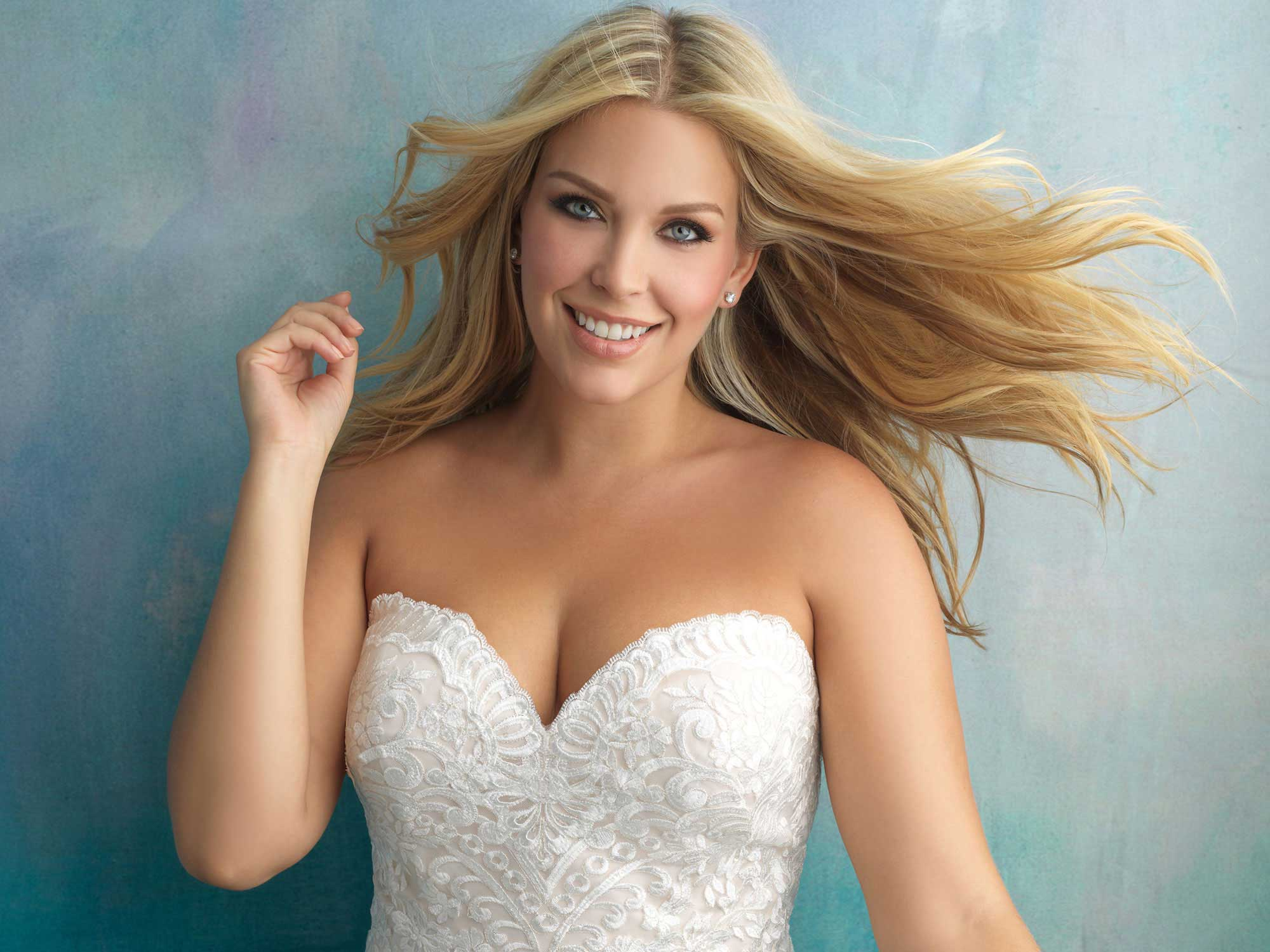 Plus Size Wedding Dress - hba410c